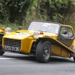 Coupe Florio 2012 , montée historique, Catterham