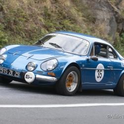 Coupe Florio 2012 , montée historique, Renault Alpine A110