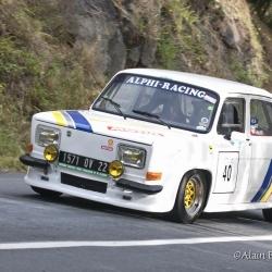 Coupe Florio 2012 , montée historique, Simca 1000