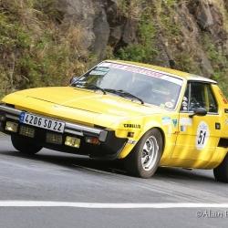 Coupe Florio 2012 , montée historique, Fiat X1/9