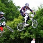 BMX - Thomas Baccelli et Maël Levay en jump